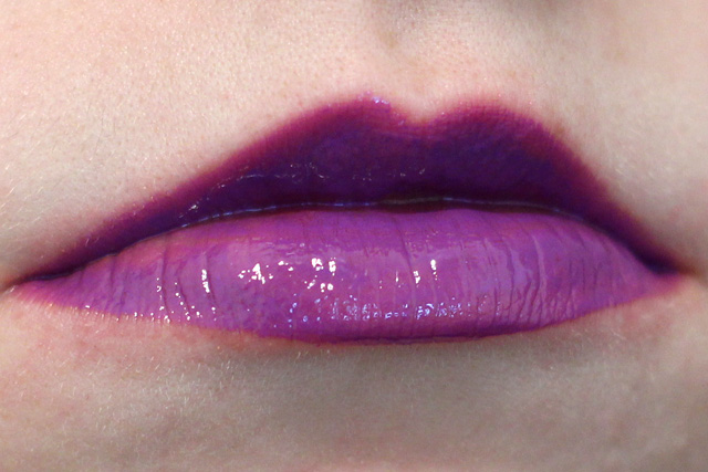 Nyx Intense Butter Gloss Lip Swatch in Berry Strudel