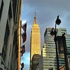 The Empire State Building in the golden hour