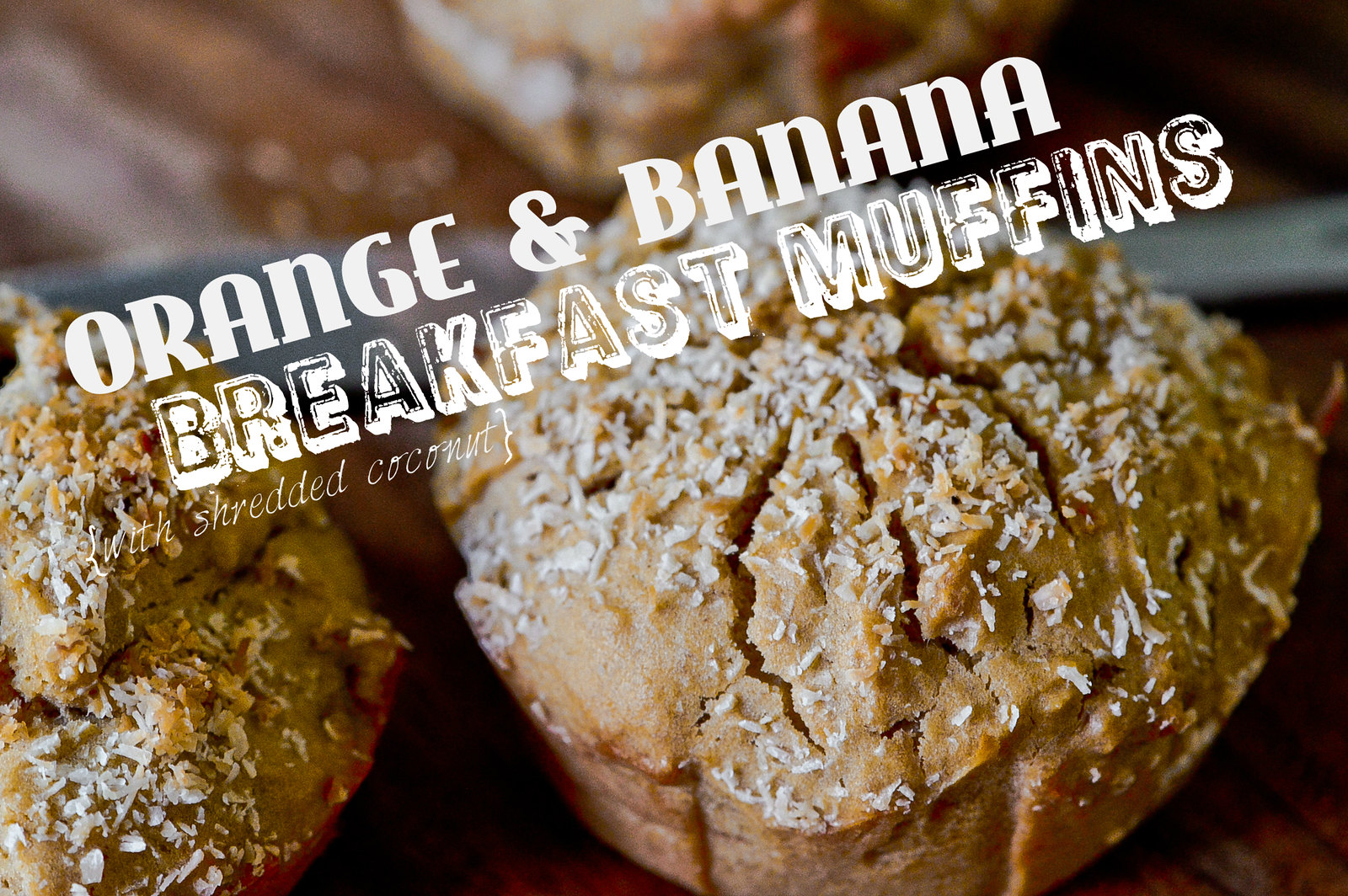 Orange & Banana Breakfast Muffins