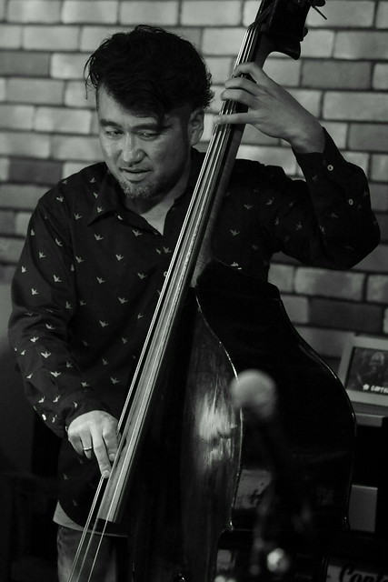 高橋知己カルテット jazz live at Cortez, Mito, 18 Apr 2015. 0887