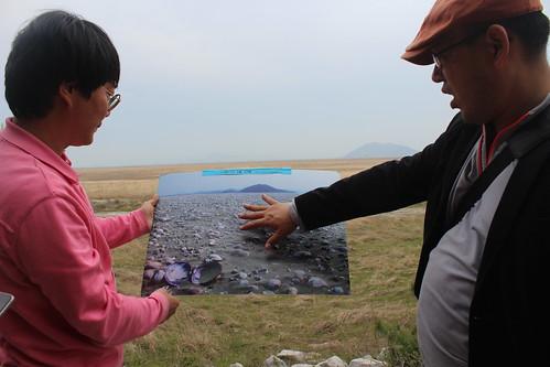 新萬金計畫區將原本遼闊的海岸濕地變成眼前的荒蕪