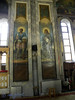 Mural painting in Bistriţa Monastery, Valcea county, in the Romanian region of Oltenia