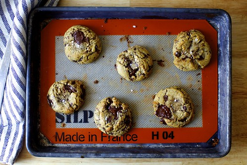 salted chocolate chunk cookies | smitten kitchen