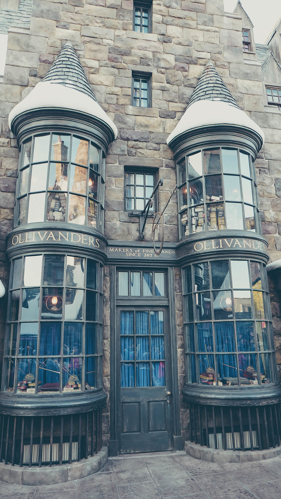 Ollivanders Wand Shop, makers of fine wands since 382 B.C.