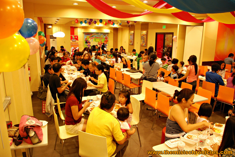 jollibee kids party shell macapagal northbound