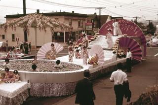 City Light float in Seafair Parade, 1962