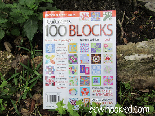 Quiltmaker's 100 Blocks, Vol 11. This is my sixth isssue!