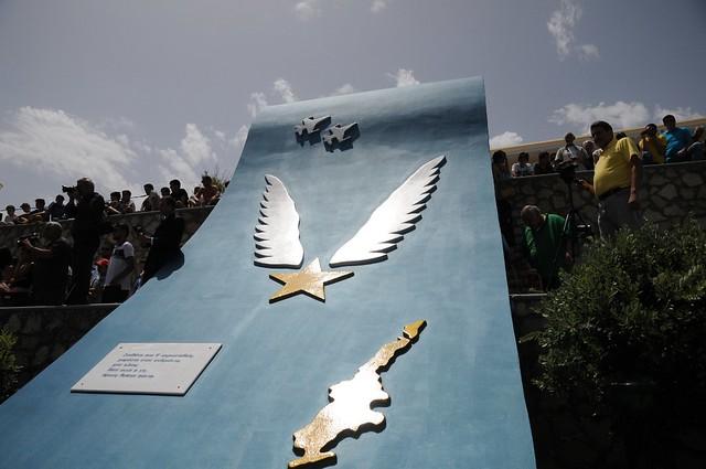 Ο ΥΕΘΑ Πάνος Καμμένος στις εκδηλώσεις τιμής και μνήμης για τον Ήρωα Σμηναγό Κώστα Ηλιάκη