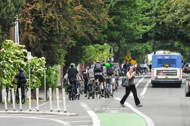 Bike traffic on N Williams Ave-1.jpg