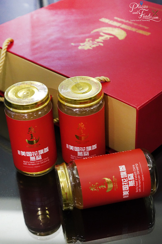 grand imperial bird nest with american ginseng set