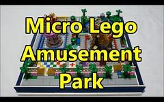 Micro-scale Lego Amusement Park