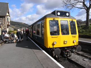 Railcar at Carrog