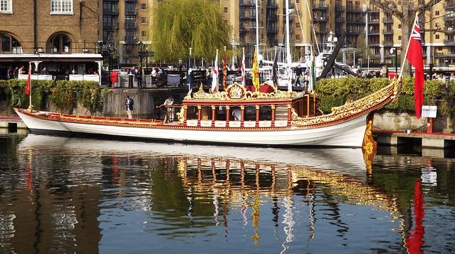 QRB Gloriana at London YJAPCS (1) @ St Kats 09-04-15