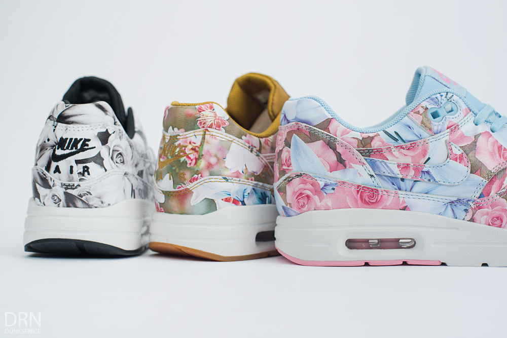 Floral Air Max's.