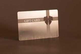 Pure Metal Cards - metal gift card