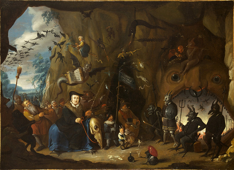 Egbert II van Heemskerck - Luther in Hell, 1700-10