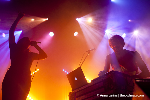 Sylvan Esso @ The Fillmore, SF 04-22-15
