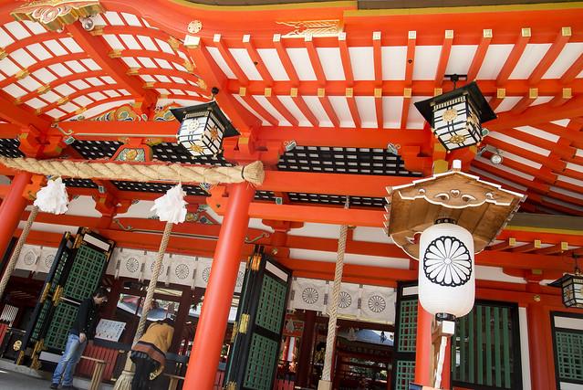 Ikita Shrine's Main Building