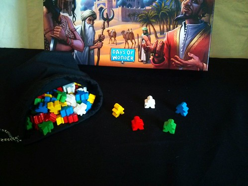 016 Five Tribes Meeples