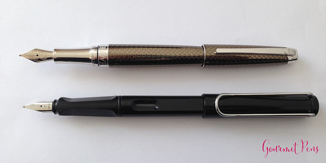 Review Caran d'Ache Léman Caviar Fountain Pen @AppelboomLaren (7)