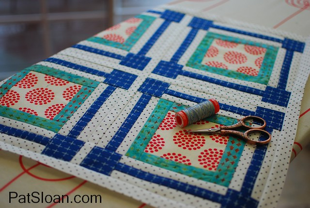 pat sloan april aurifil mini