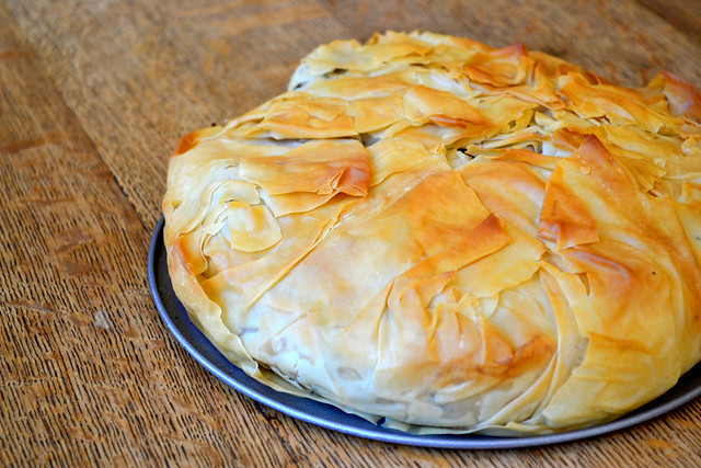 How To Make a Filo Pie