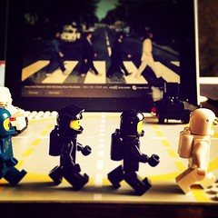 Abbey Road by the Classic Spacemen. #LEGO #TheBeatles #Classicspace #AbbeyRoad #Classic