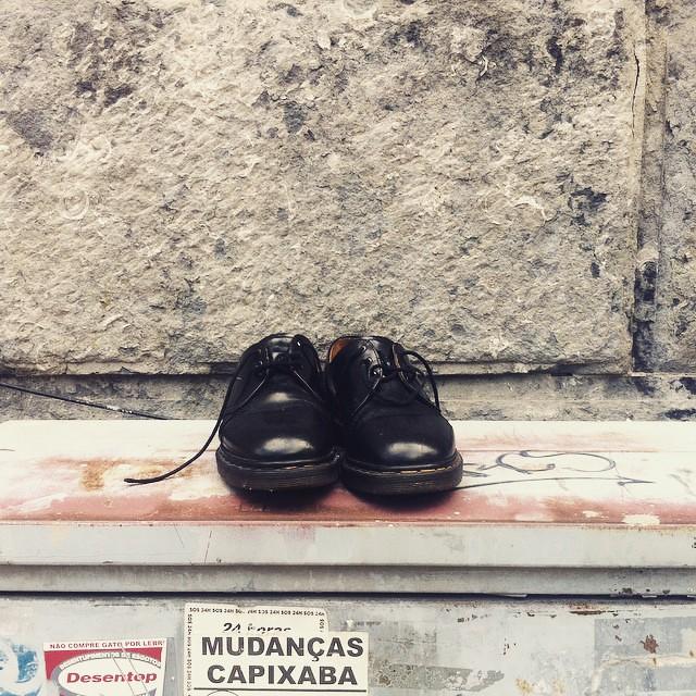 #sapatosnarua