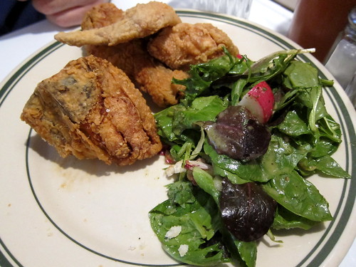 Fried Chicken Box with Green Salad