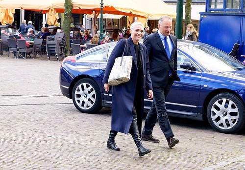 Staatssecretaris Wilma Mansveld