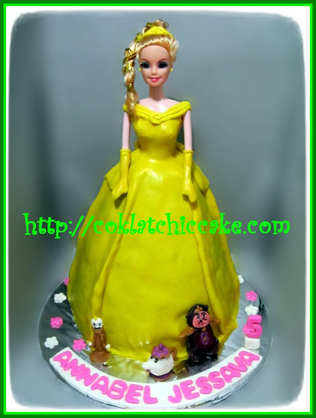 Cake Beauty and the Beast, Cake Princess