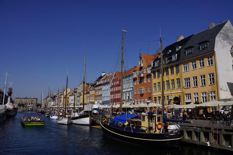 【丹麥】散步哥本哈根Copenhagen,好久不見,新港(Nyhavn)。
