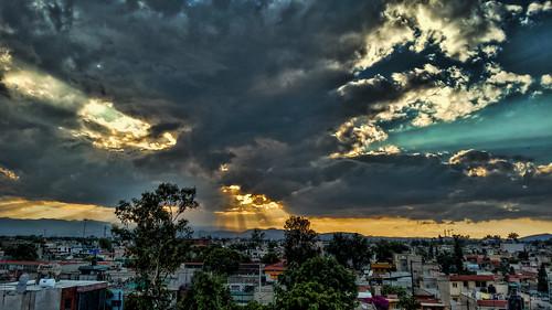 sunset sky méxico landscape atardecer twilight paisaje cielo contraste ciudaddemexico distritofederal