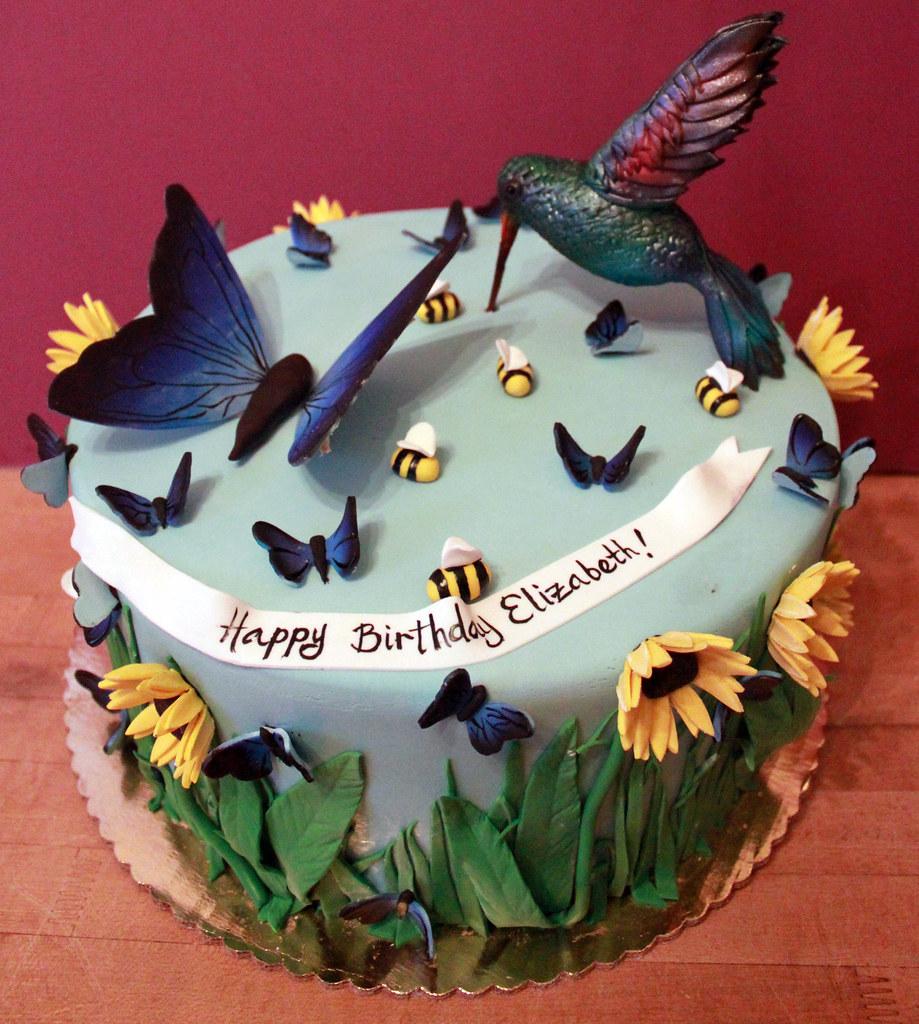 Hummingbird Bakery Birthday Cake