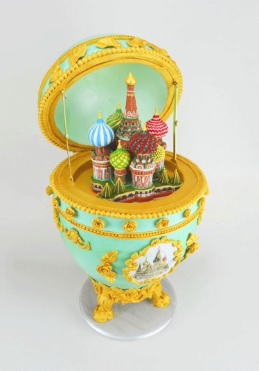 World's Landmarks by Cake Moscow