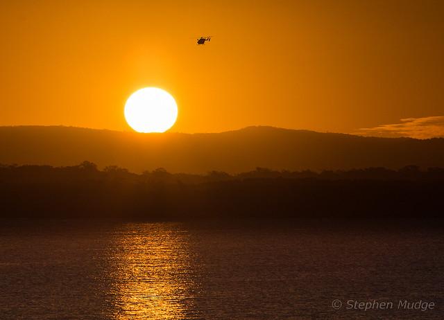 Sunset Eurocopter