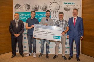 """MGEP tercer premio en el Concurso de Prototipos """"Industry Automation"""""""