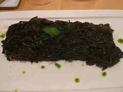 algae(0.0), seaweed(0.0), tea(0.0), produce(0.0), drink(0.0), gyokuro(0.0), wakame(1.0), food(1.0), dish(1.0), cuisine(1.0),