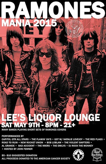 Ramones Mania 2015 @ Lee's Liquor Lounge, Minneapolis, MN