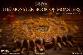 《哈利波特》奇獸飼育學課本《怪獸的怪獸書》1:1 立體化