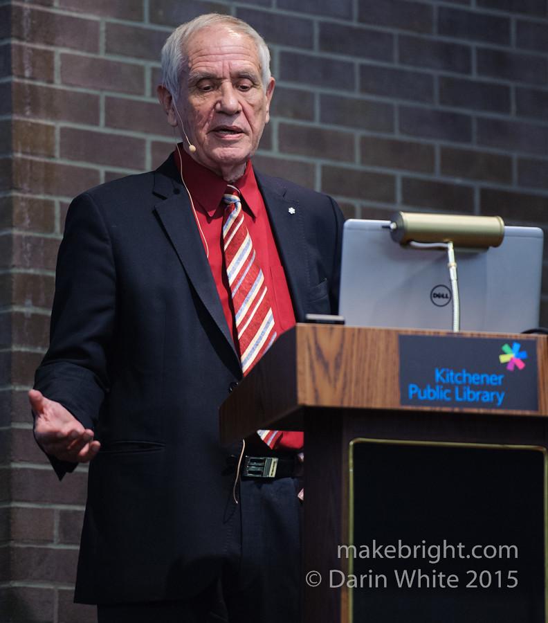 Douglas Cardinal talk at KPL 066