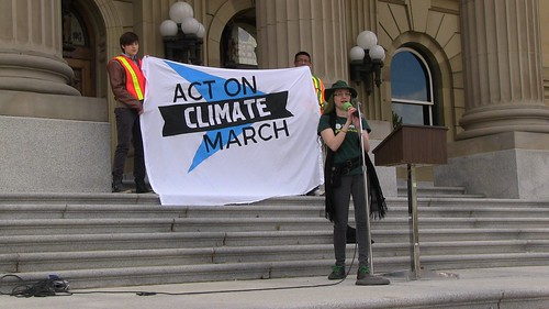Act on Climate March - Edmonton Solidarity