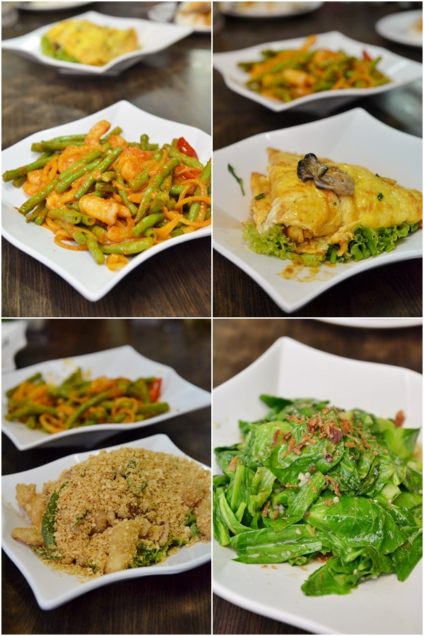 Food at A-Poh Kitchen