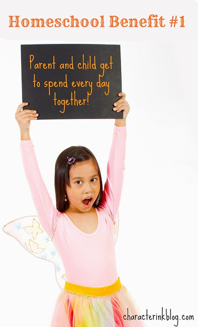 Homeschool Benefit #1: Spending Every Day Together