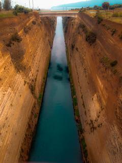 Corinth canal !!!