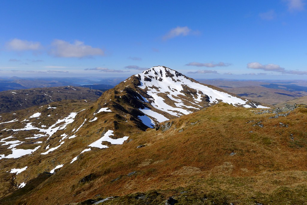 Beinn Bhuidhe from the north top