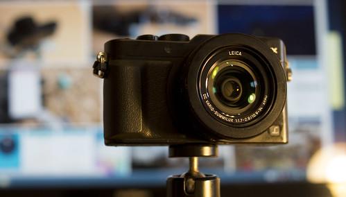 Panasonic Lumix LX100   fotoaparatas filmuoja 4K video
