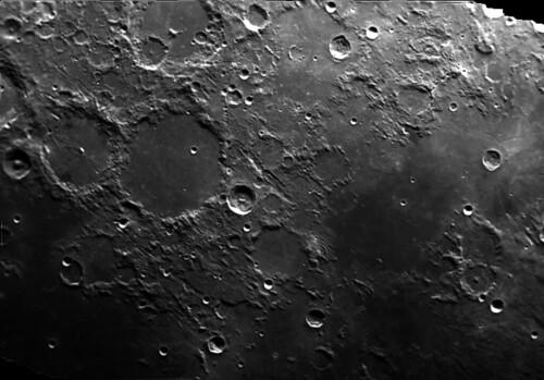 Moon - Ptolomeaus, Alphonsus, Arzhael, Mare Nubium