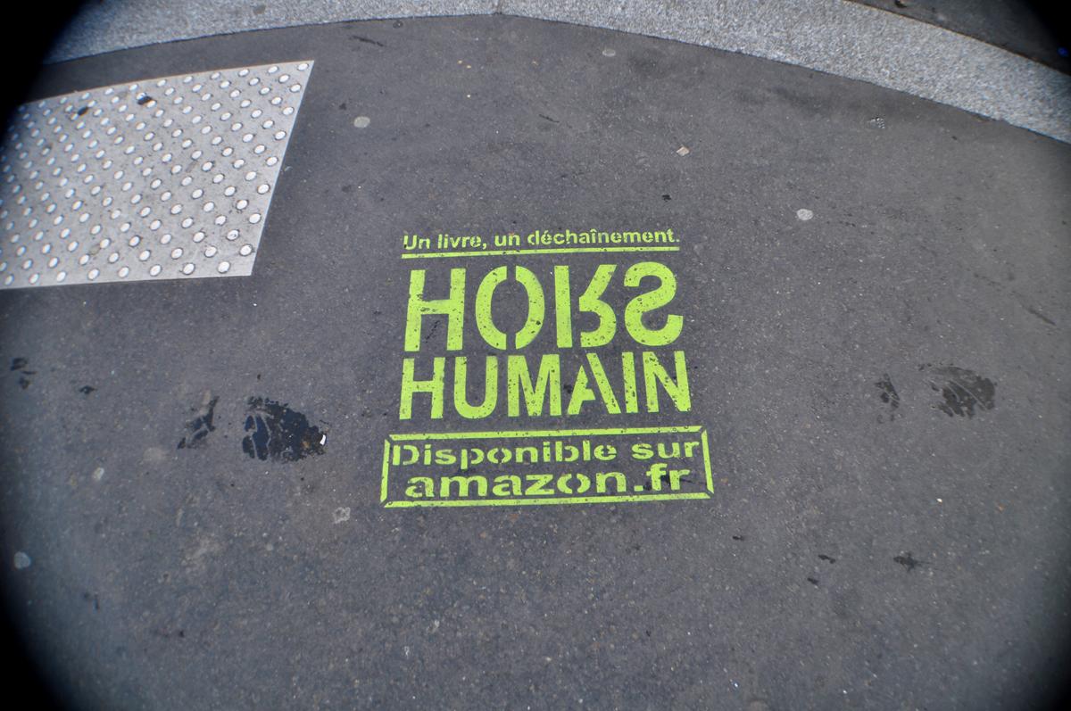 HORS HUMAIN dispo Amazon