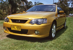 automobile, automotive exterior, vehicle, compact car, bumper, ford bf falcon, sedan, land vehicle,